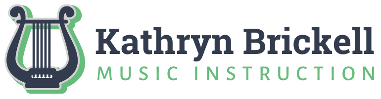 Kathryn Brickell Music Lessons LLC Logo